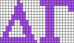 Alpha pattern #43257 variation #105351
