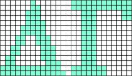 Alpha pattern #43257 variation #105352