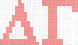 Alpha pattern #43257 variation #105353