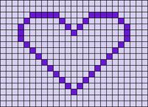 Alpha pattern #51184 variation #105354