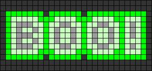 Alpha pattern #58836 variation #105422
