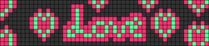 Alpha pattern #42569 variation #107022