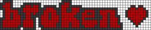 Alpha pattern #60123 variation #107142
