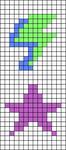 Alpha pattern #46309 variation #107195