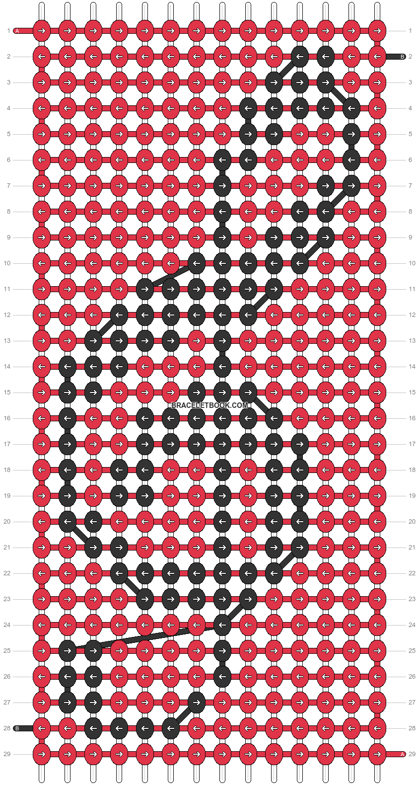 Alpha pattern #18296 variation #107426 pattern