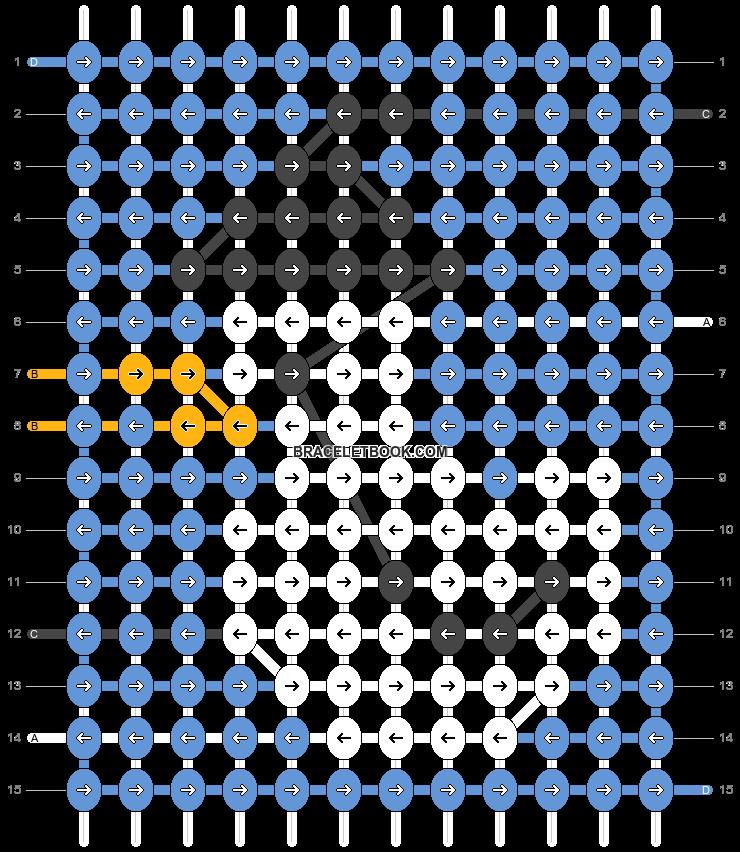 Alpha pattern #54859 variation #107833 pattern