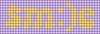 Alpha pattern #60503 variation #108037