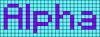 Alpha pattern #696 variation #108280