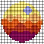 Alpha pattern #60642 variation #108379