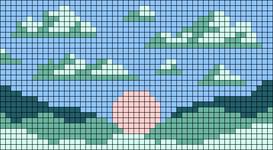 Alpha pattern #60214 variation #109915