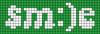 Alpha pattern #60503 variation #110025