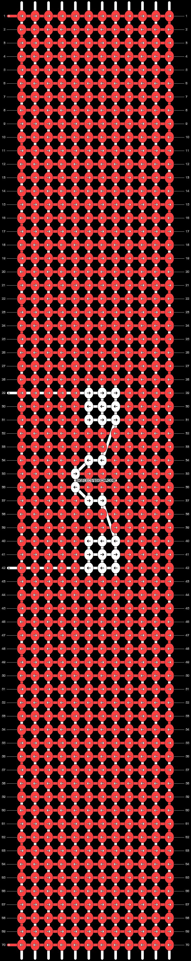 Alpha pattern #44189 variation #110037 pattern