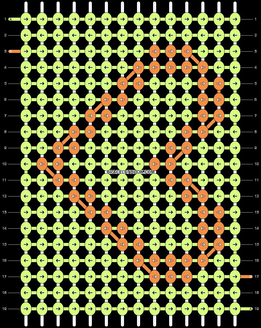 Alpha pattern #387 variation #110087 pattern