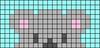 Alpha pattern #56159 variation #110505