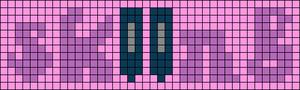 Alpha pattern #60691 variation #110554