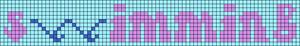Alpha pattern #60690 variation #110556