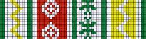 Alpha pattern #24096 variation #110566