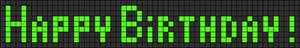 Alpha pattern #2008 variation #110603