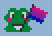 Alpha pattern #61685 variation #111530