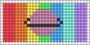 Alpha pattern #61857 variation #111878