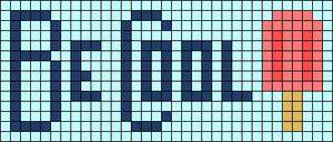 Alpha pattern #61290 variation #112530
