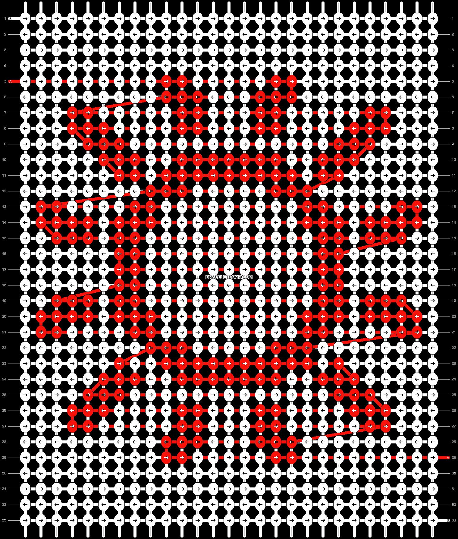 Alpha pattern #62195 variation #113277 pattern