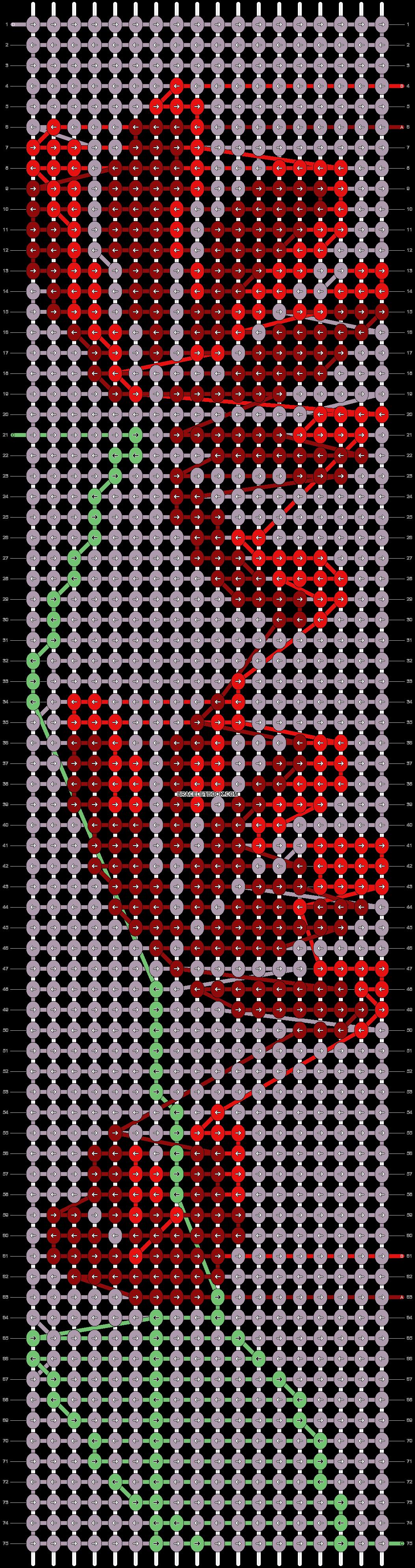 Alpha pattern #22054 variation #113283 pattern