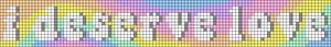 Alpha pattern #62384 variation #113632