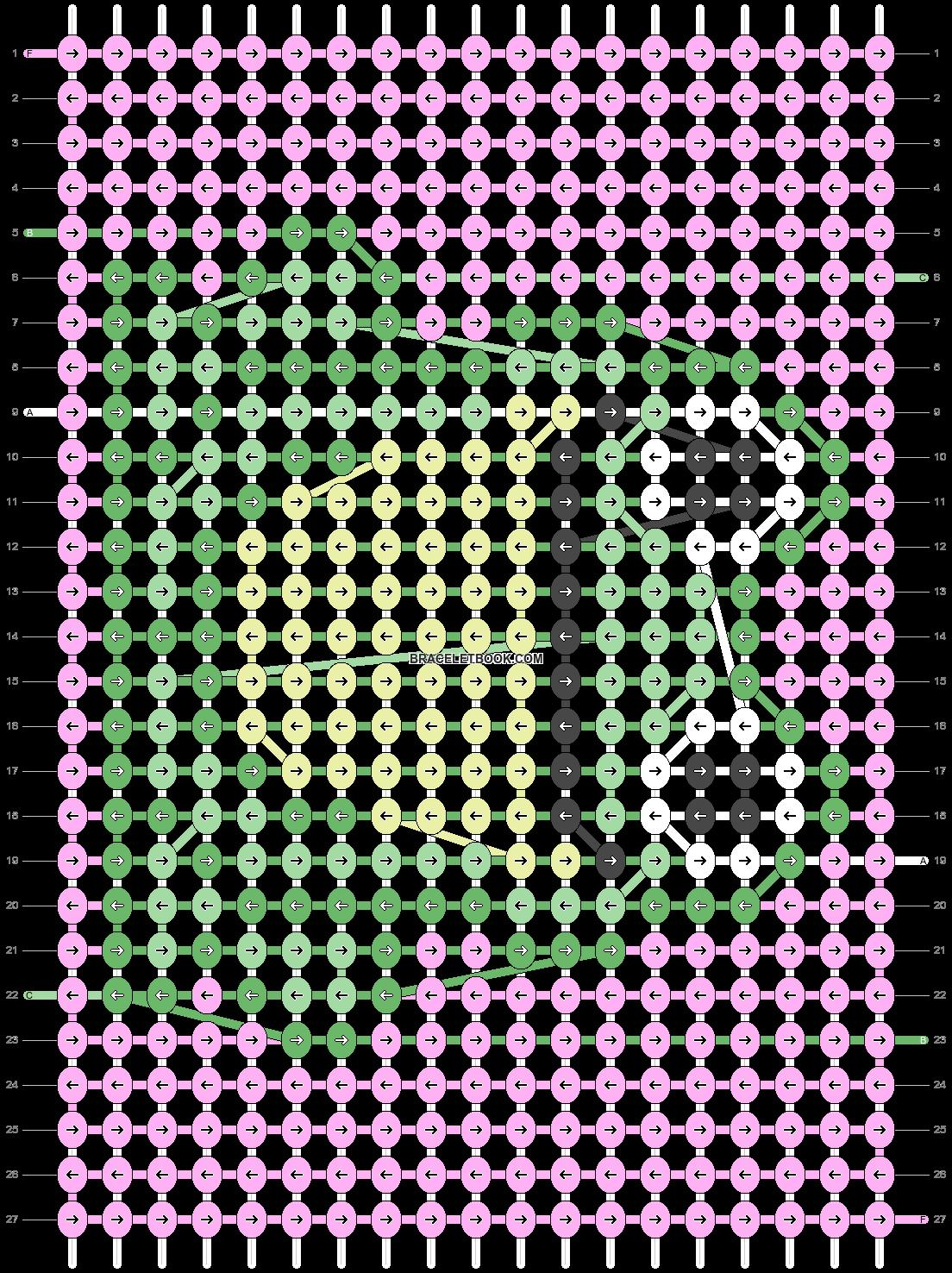 Alpha pattern #23284 variation #113659 pattern