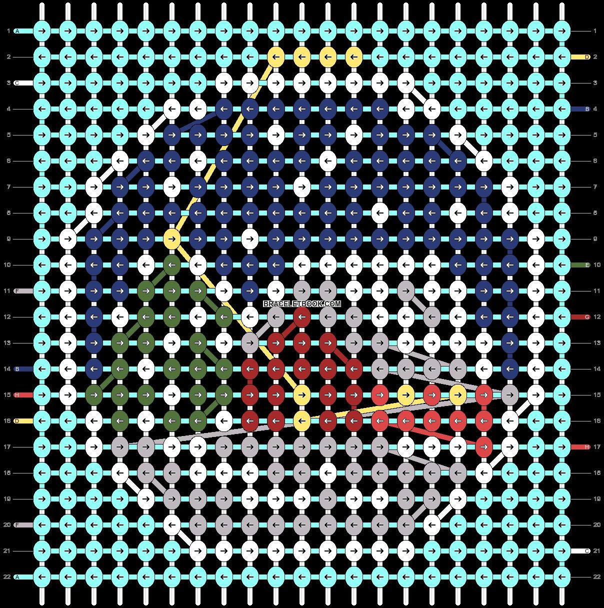 Alpha pattern #61027 variation #114036 pattern