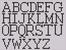 Alpha pattern #474 variation #114726