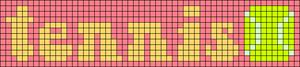 Alpha pattern #60340 variation #115598