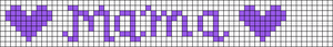 Alpha pattern #6547 variation #116538