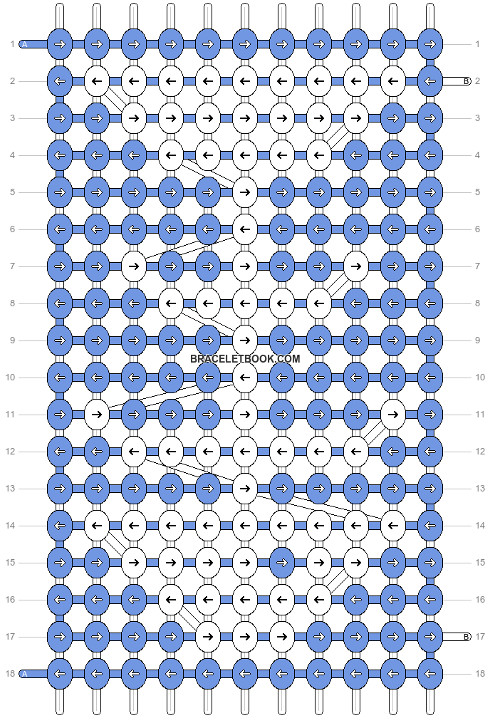 Alpha pattern #191 variation #116701 pattern