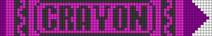 Alpha pattern #27811 variation #116918