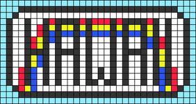 Alpha pattern #64190 variation #118384