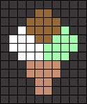 Alpha pattern #64771 variation #119594
