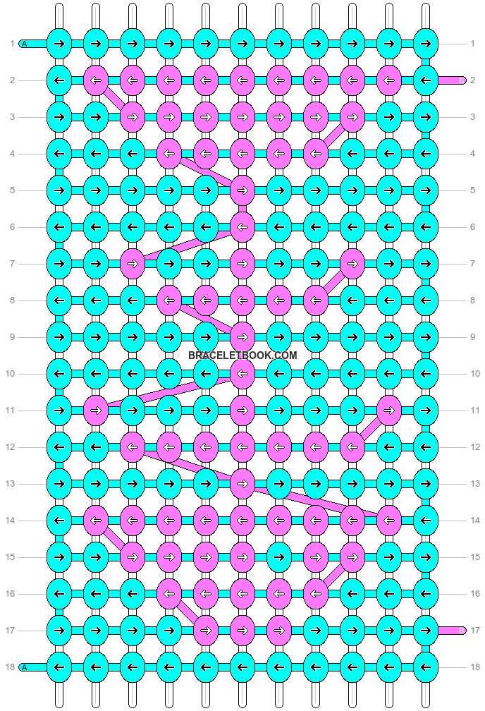 Alpha pattern #191 variation #120009 pattern