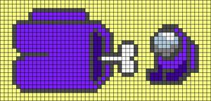 Alpha pattern #65209 variation #120409