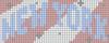 Alpha pattern #45088 variation #120459