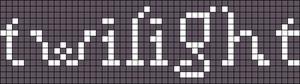 Alpha pattern #2806 variation #120596