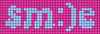 Alpha pattern #60503 variation #121336