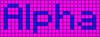 Alpha pattern #696 variation #121347