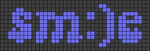Alpha pattern #60503 variation #121435