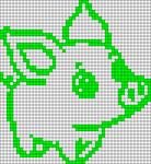 Alpha pattern #60403 variation #121623