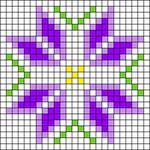 Alpha pattern #65925 variation #121908