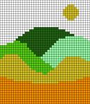 Alpha pattern #65943 variation #122009