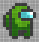 Alpha pattern #66080 variation #122335