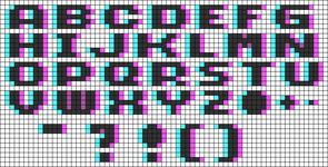 Alpha pattern #66157 variation #122463