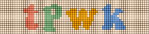 Alpha pattern #43965 variation #122952